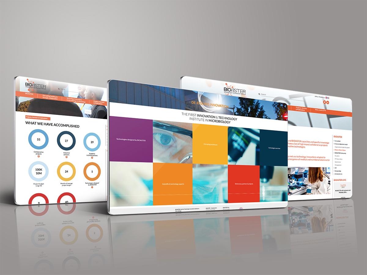 Un brin de campagne, Agence de communication, Lyon - Bioaster