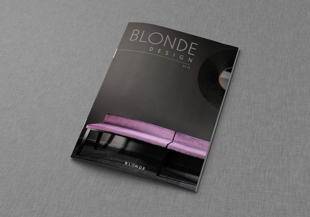 Un brin de campagne, Agence de communication, Lyon, Blonde design