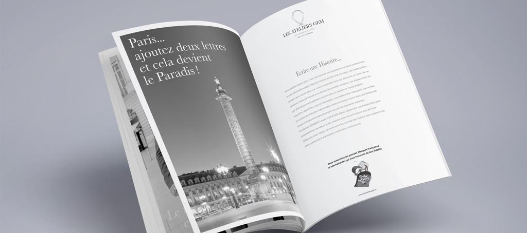 Un brin de campagne, Agence de communication, Lyon, Ateliers GEM