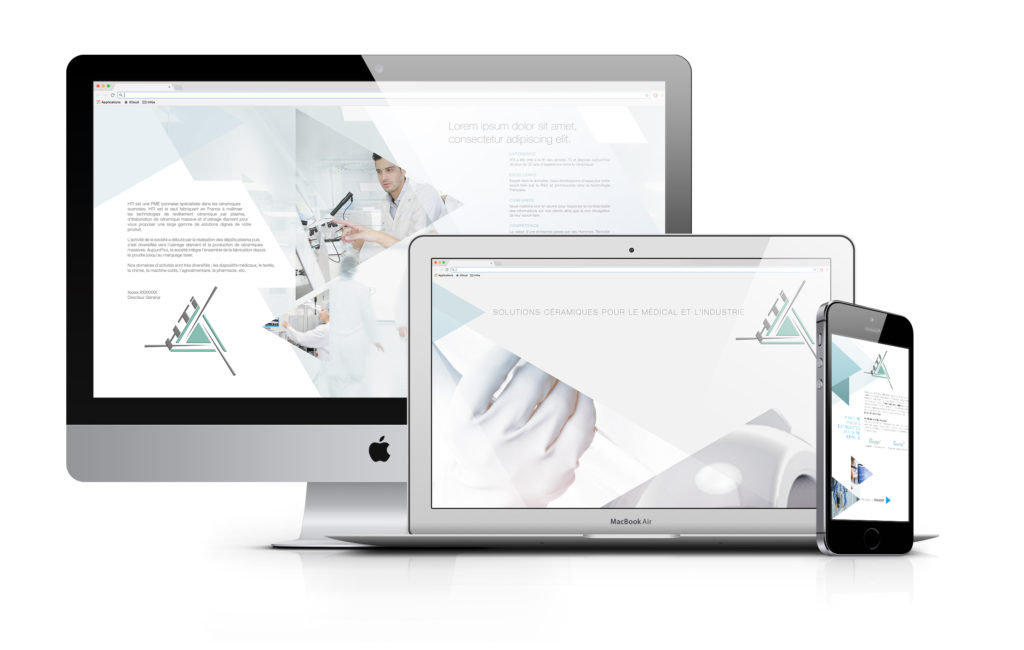 Un brin de campagne, Agence de communication, Lyon, HTI Technologies