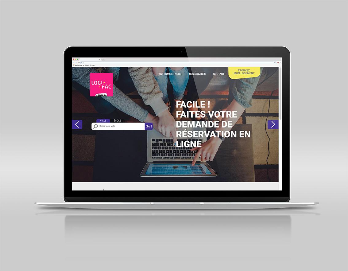 logifac site web logements étudiants