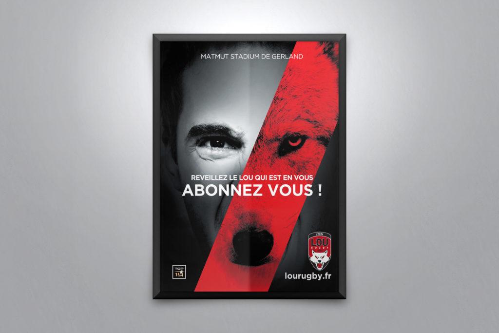 Un brin de campagne, Agence de communication, Lyon, LOU Rugby