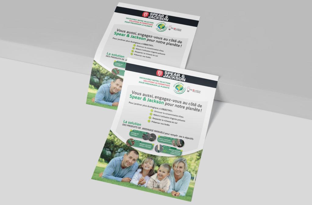 Un brin de campagne, Agence de communication, Lyon - Spear & Jackson