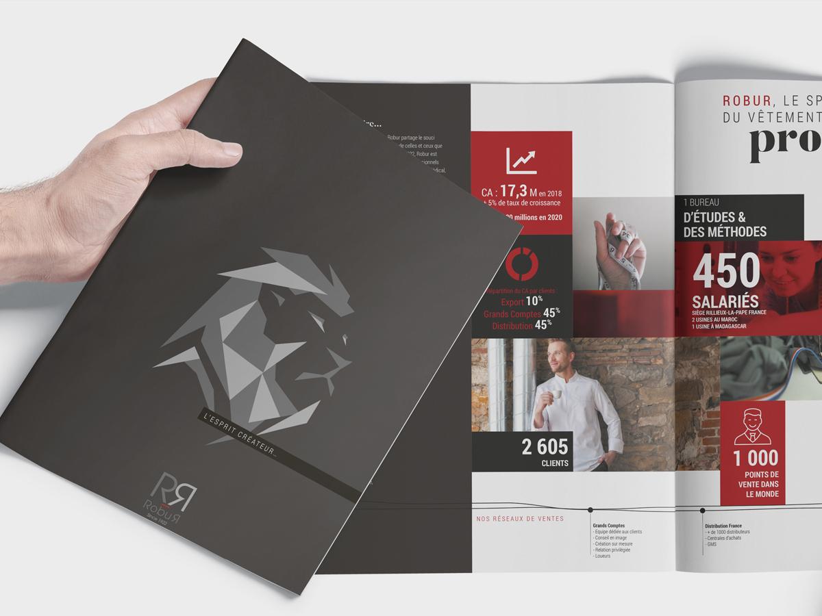 Un brin de campagne, Robur, collection, édition, création