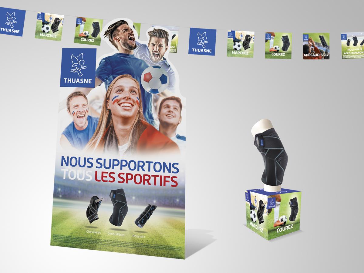 Un brin de campagne, Agence de communication, Lyon, Thuasne