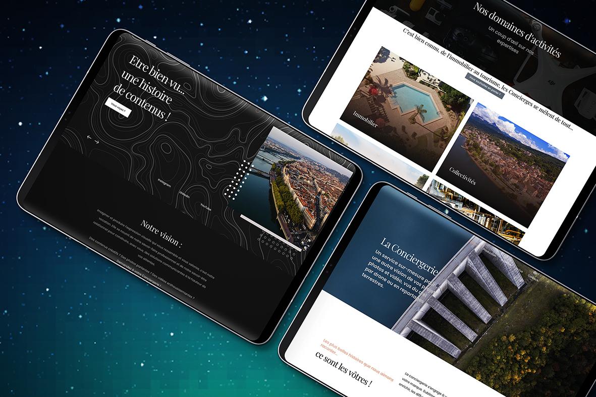 La Conciergerie, drone, photo, vidéo, vue aérienne